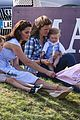prince william plays polo family watches 14
