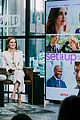 zoey deutch glen powell build series 2018 17