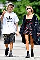 justin bieber and hailey baldwin cant stop smiling during nyc stroll 08
