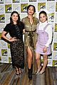 charmed sarah jeffery melonie diaz comic con 21