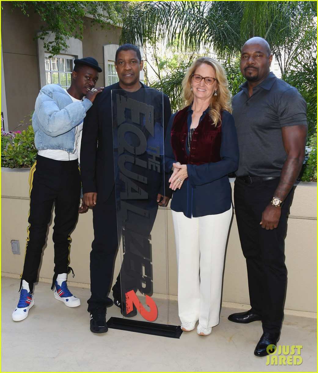 Denzel Washington Promotes 'The Equalizer 2' in LA!: Photo