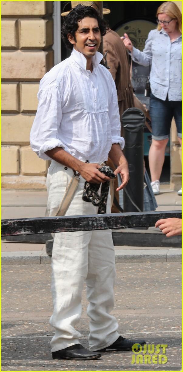 dev patel david copperfield filming set 014117354