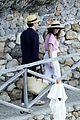 felicity jones charles guard hit the beach honeymoon 34