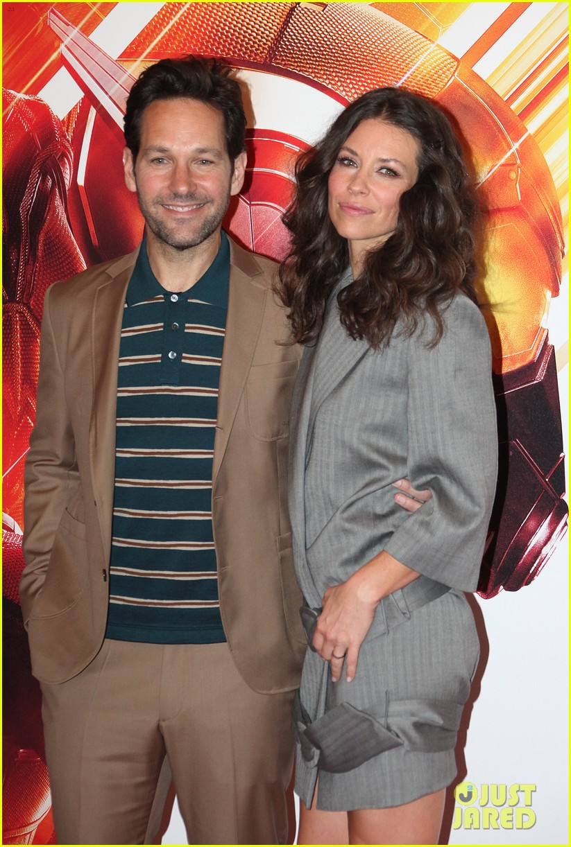 paul rudd evangeline lilly bring ant man and the wasp to rome 014116547