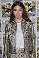 hailee steinfeld and john cena bring bumblebee to comic con 36