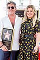 simon cowell american idol alums at hollywood walk of fame ceremony 22