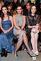 gigi hadid bella hadid and kaia gerber look fab in floral for anna suis nyfw show 04