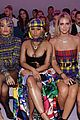 nicki minaj versace fashion show milan 03