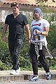 chris martin hangs out with friends in malibu 05