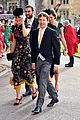 ellie goulding fiance caspar jopling couple up at princess eugenies wedding 01
