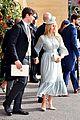 ellie goulding fiance caspar jopling couple up at princess eugenies wedding 15