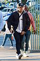 nick jonas arrives to check out dodgers game in los angeles03