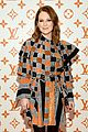 julianne moore justin theroux  sienna miller step out for louis vuitton event in nyc 13