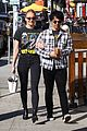 sophie turner holds on close to joe jonas during afternoon outing 03