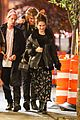 lily james matt smith grab dinner with friends in nyc 01