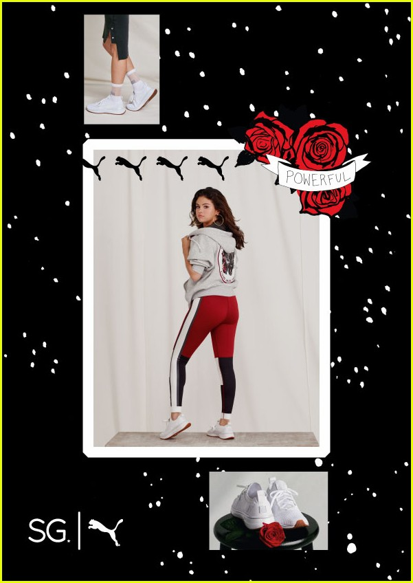 Selena Gomez Teams Up With Her Best Friends For  Puma  Strong Girl  Campaign!  Photo 4189072  886887349