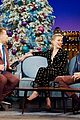 amber heard could be aunt at any moment on late late show 02