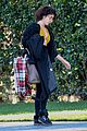 sarah hyland leaves la during social media break 02