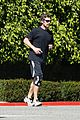 christian bale goes for a run in los angeles 03