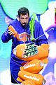 adam sandler gets slimed at kids choice awards 02