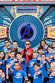 avengers cast visits fans at disneyland 03