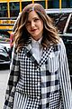 sophia bush suits up in plaid 02