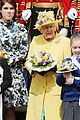 queen elizabeth joined by princess eugenie for easter coin ceremony 01