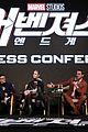 brie larson avengers endgame co stars south korea 04