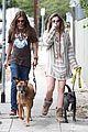 paris jackson gabriel glenn dogs walk la 04