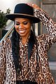 gabrielle union stuns in leopard print blazer while out in nyc 02