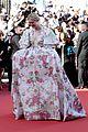 elle fanning floral gown cannes les mis premiere 26