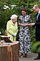 kate middleton prince william queen elizabeth chelsea flower show garden 01