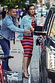 mandy moore matches with her bff in denim jackets 04