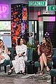 sutton foster younger cast at build series 40