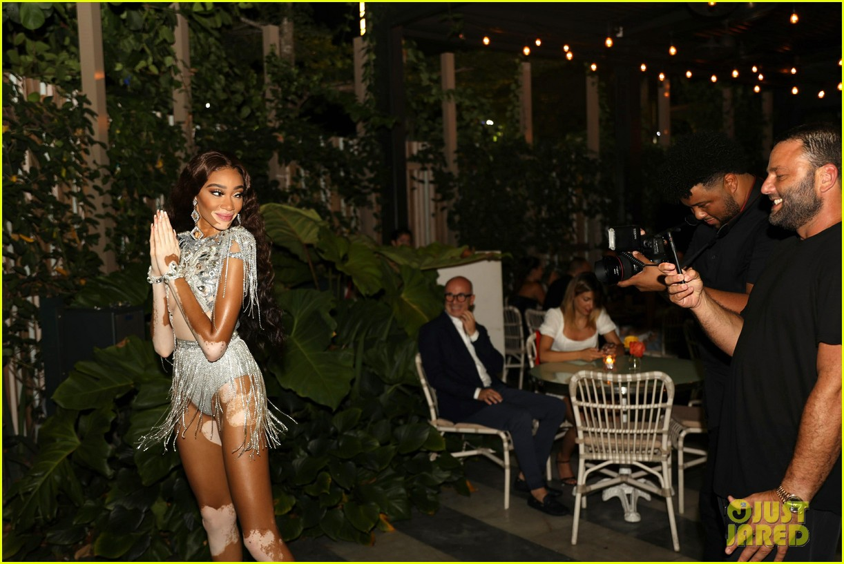 Winnie Harlow Rings In Her 25th Birthday With Miami Bash