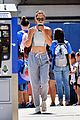 katie holmes shows off toned body after a workout 04