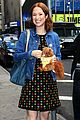 ellie kemper says first few months of second pregnancy were rough 01
