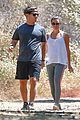 lea michele husband andy reich go hiking in santa monica 04