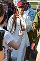 rihanna out at cricket game 03