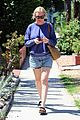 kirsten dunst and fiance jesse plemons take their dog for a walk 01