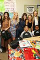 zooey deschanel nicole richie busy philipps help donate one million backpacks socal 07