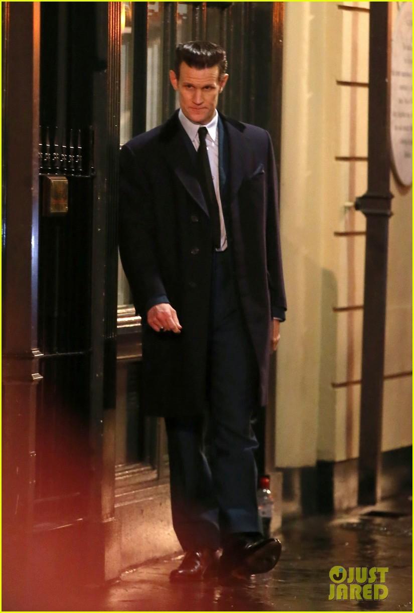 matt smith anya taylor joy continue filming late night in soho in london 014336500