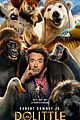 dolittle character posters debut new trailer 02