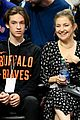 kate hudson danny fujikawa bring sons ryder bingham to clippers game 11