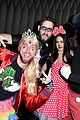 jc chasez lance bass have nsync reunion at halloween party 03