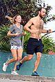 james middleton shirtless jog with alizee thevenet 01
