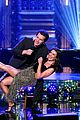 lea michele jonathan groff duet ill be home for christmas on the tonight show 01