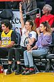 behati prinsloo has girls night out at lakers game 01