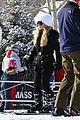 jessica simpson ashlee simpson ski trip 03