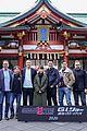 Photo 8 of Henry Golding & 'Snake Eyes' Cast Kick Off Production in Japan!